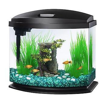 Aqueon LED MiniBow 5 SmartClean Aquarium Kit Černá - 5 galonů