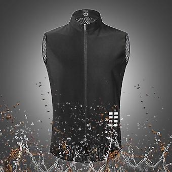 Pyöräilyliivi Ultrakevyt hihaton Jersey Cycle Gilet Waistcoat Thin Reflective