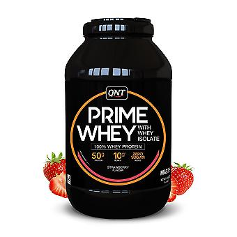 QNT Prime Whey Protein Powder 100% Whey Isolate - 2kg - Strawberry