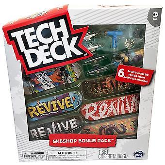 Tech Deck 96mm Fingerboard Sk8Shop Bonus 6-Pack - Revive