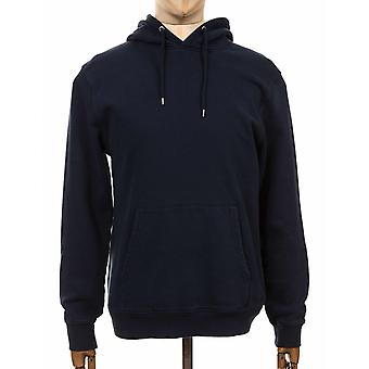 Colorful Standard Organic Cotton Hooded Sweat - Navy Blue