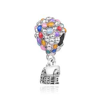 925 Sterling Silver Bead Up House & gt; Léggömbök Charm karkötő DIY ékszer nőknek | Varázsa