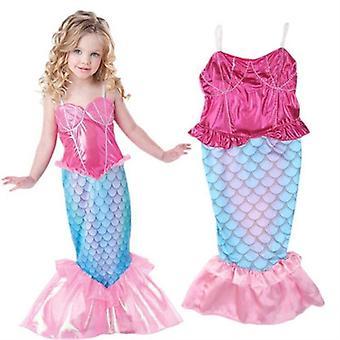בגדי ים בנות קלע בתולת ים בגד ים בחתיכה אחת