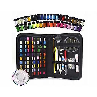 128-piece Portable Diy Sewing Needle And Thread Set For Family Travel