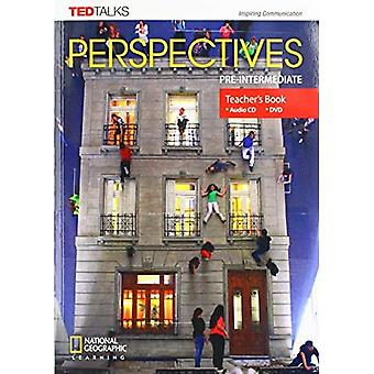 Perspectives Pre-intermediate: Teacher's Guide with MP3 Audio CD and DVD
