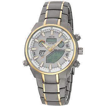 ONE (Eco Tech Time) Gold TitanIUM-11336-40M Men's Watch