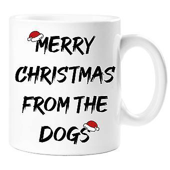 Merry Christmas From The Dogs Mug