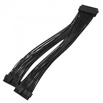 Upgrade 24pin 20+4pin Dual Psu Atx Power Supply Adapter Cable Connector For Mining 32cm Starting Line Computer Components