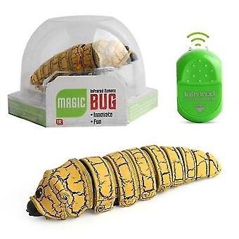 Digital cameras 1pcs electric caterpillar remote control toy with infrared remote control ghost bug spoof reptiles