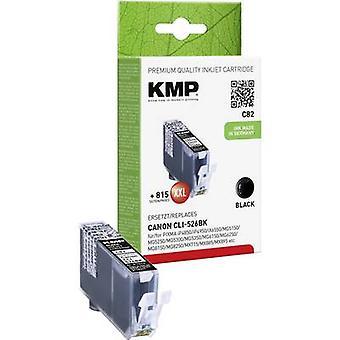 Tinta KMP sustituye Canon foto Compatible CLI-526 negro C82 1514,0001