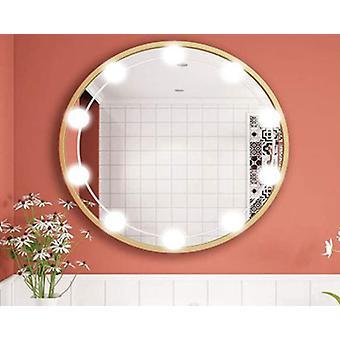 Led יהירות מראה נורה יהירות אור קדמי אמבטיה מראה אור יהירות נורה, 10 נורות אור לבן