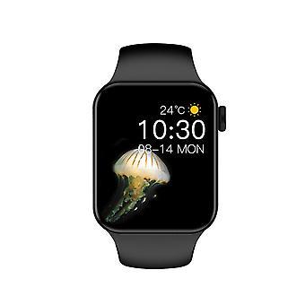 جديد Iwo T100 بالإضافة إلى سلسلة الساعات الذكية 7 الرجال النساء اللياقة البدنية معدل ضربات القلب رصد سوار ساعة ذكية لتعقب أندروي