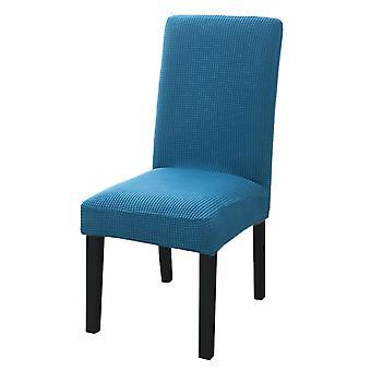 Schlichte Essstuhl Abdeckung Spandex elastische Stuhl Slipcover Fall Stretch Sitz