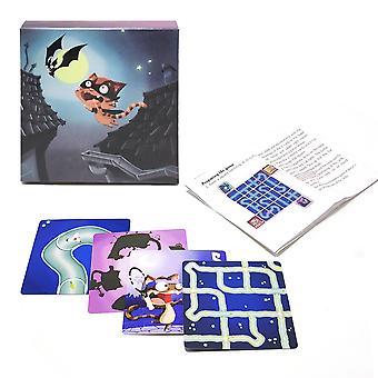 2020 Chabyrinthe Jeux de cartes Full English Chat chat chat à jouer cartes labyrinthe rotation pour les enfants fête de famille jeu de société