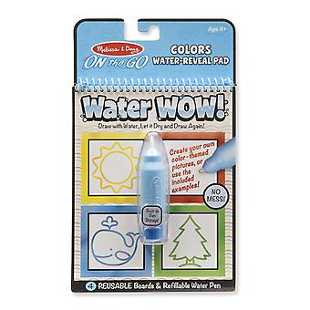 Melissa & Doug Water Wow! Colours & Shapes Reuseable Painting Book