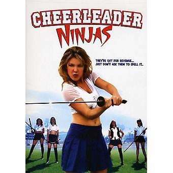 Cheerleader Ninjas [DVD] USA import