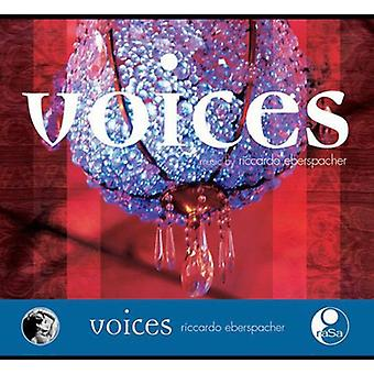 Riccardo Eberspacher - Voices [CD] USA import