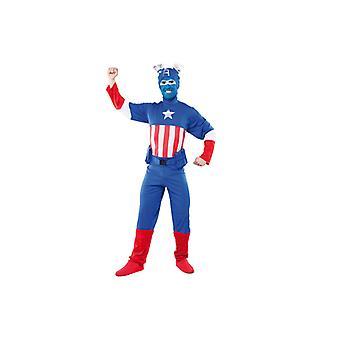 America costume USA America hero costume mens Gr. L