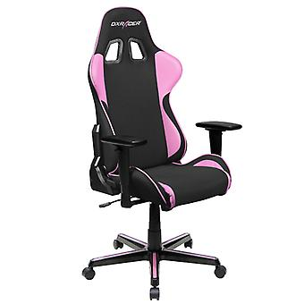 DX Racer DXRacer OH/FH11/NP High-Back Ergonomic Office Desk Chair Strong Mesh+PU(Black/Pink)