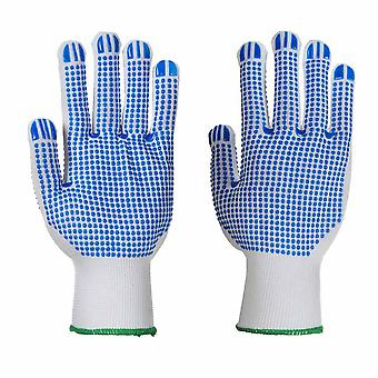 Portwest - Polka Dot Double Sided Gripper Glove (1 Pair Pack)