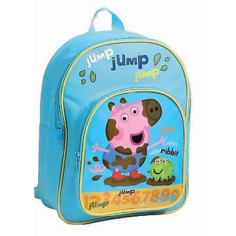 George Peppa gris hoppe Mini skole sekken