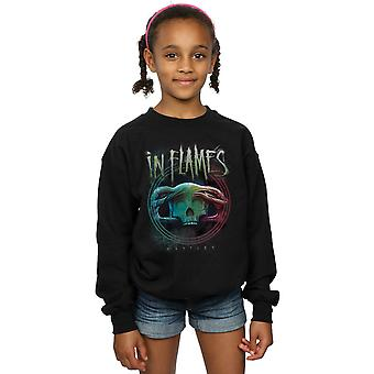In Flames Girls Battles Circle Sweatshirt