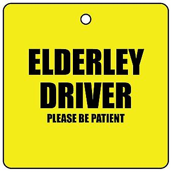 Elderley Driver Car Air Freshener