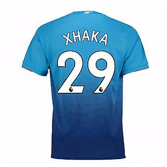 2017-2018 arsenal weg Shirt (Xhaka 29)