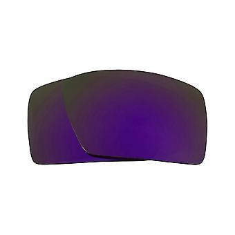 Replacement Lenses for Oakley Eyepatch 1 Sunglasses Purple Mirror Anti-Scratch Anti-Glare UV400 by SeekOptics