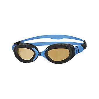 Zoggs Predator Flex 2.0 Polarized Ultra Adult Swim Goggles - Black/Blue/Copper