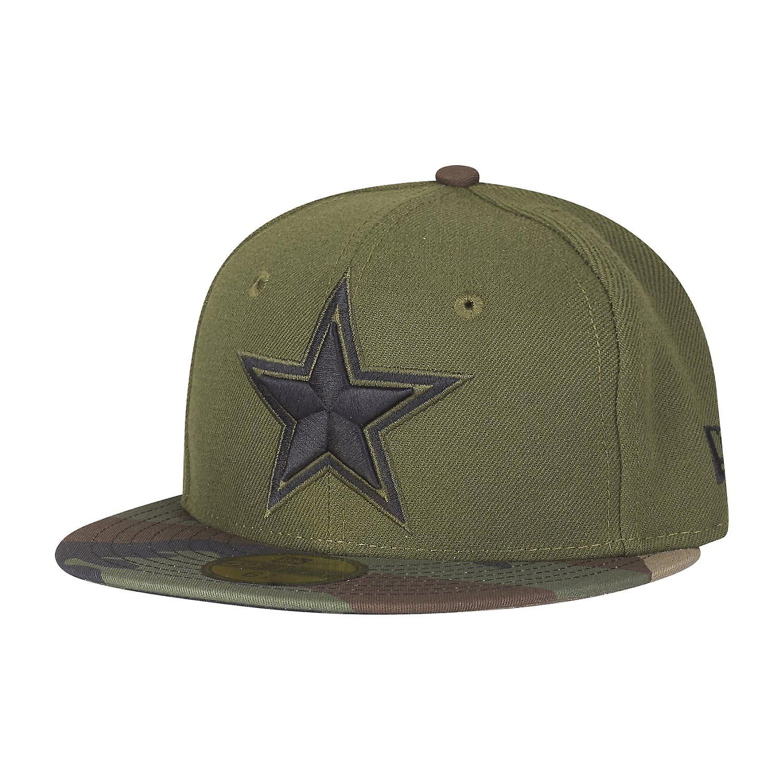 best service 597ef 57449 New era 59Fifty KIDS Cap - Dallas Cowboys camo olive / wood