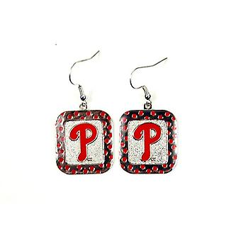 Philadelphia Phillies MLB Polka Dot Style boucle d'oreille