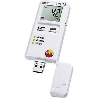testo 184 T3 Temperature data logger Unit of measurement Temperature -35 up to +70 °C