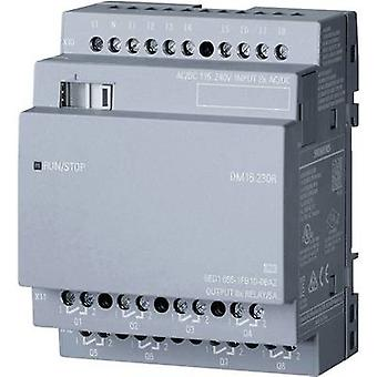 Siemens LOGO! DM16 230R 0BA2 PLC add-on module 115 V AC, 115 Vdc, 230 V AC, 230 Vdc