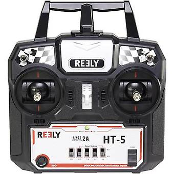 Reely HT-5 Handheld RC 2,4 GHz No. of channels: 5 Incl. receiver