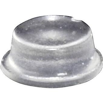 TOOLCRAFT PD2104C pied circulaire, autocollant Transparent (Ø x H) 10 mm x 4 mm, 1 PC (s)