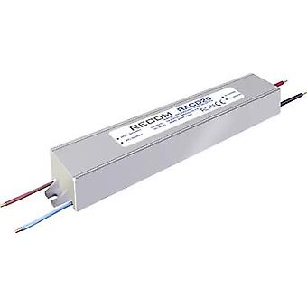 Recom Lighting RACD25-500P LED driver Constant current 25 W 0.52 A 42 - 52 V DC not dimmable, PFC circuit, Surge protection