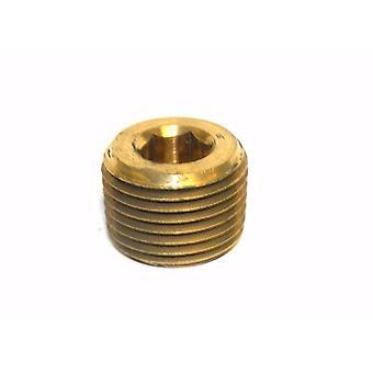 """Grande, um serviço de linha 3-226800 bronze Plug sem cabeça 1/2 """"x 3/8"""" NPT macho"""
