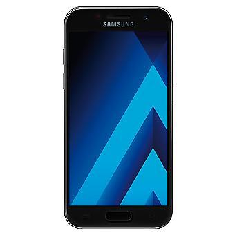 Samsung Galaxy A3 2016 3D pansrede glas folie display 9 H beskyttelsesfilm dækker tilfælde sort