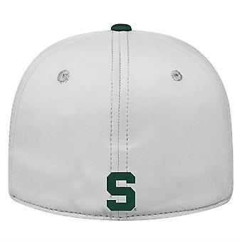 Michigan State Spartans NCAA TOW Impact Gray Stretch Fitted Hat