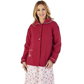 Slenderella BJ2325 nők ' s boucle gyapjú ágy kabát