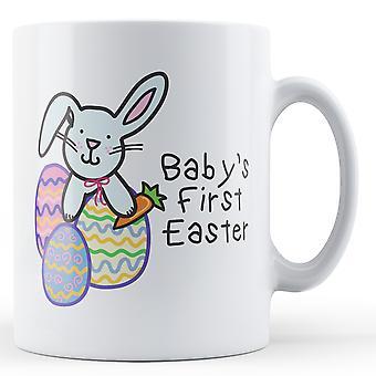 Primera Pascua bebé (conejito) - taza impresa