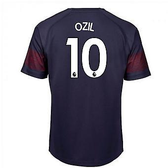 2018-2019 Arsenal Puma Away Football Shirt (Ozil 10) - Kids