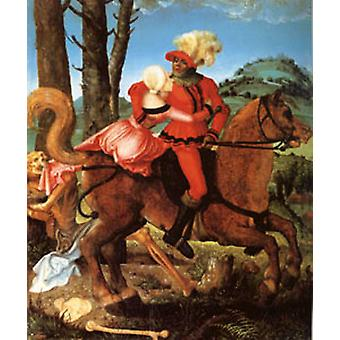 The Knight the Young Girl and Death, Hans Baldung