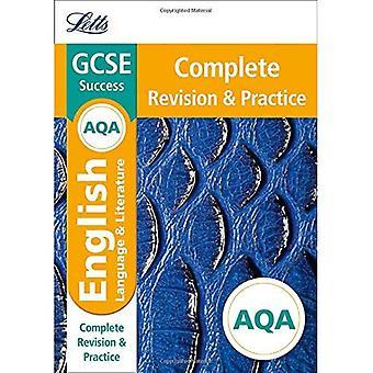 Letts GCSE Revision Success - New Curriculum � AQA GCSE English Language and English Literature Complete Revision & Practice (Letts GCSE 9-1 Revision Success)