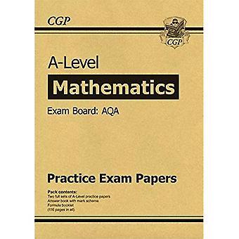Nouveaux documents de pratique AQA A niveau Maths