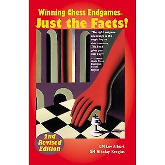 Finais de xadrez a ganhar: Apenas os fatos