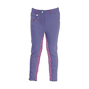 HyPERFORMANCE Childrens/Kids Love Hearts Jodhpurs