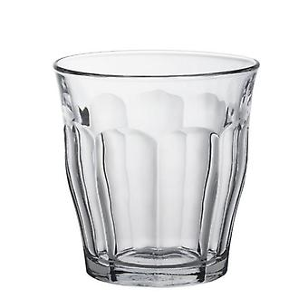 Pack Of 6 Duralex Picardie Traditional French Tumbler Glassware Set 31Cl