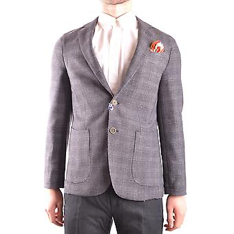 At.p.co Ezbc043020 Men's Grey Polyester Blazer